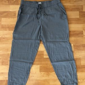 J. Crew cropped pants with pockets